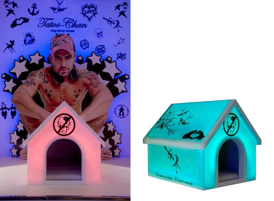 Urban dog houses parolio for Dog decorations for home